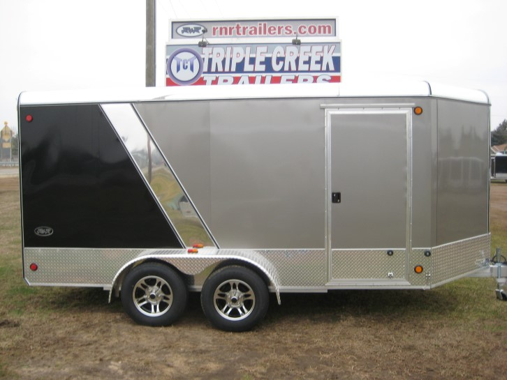 Aluminum Double Axle Car Trailer For Sale