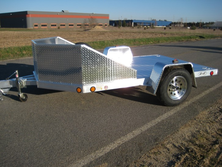 Aluminum Motorcycle Trailers