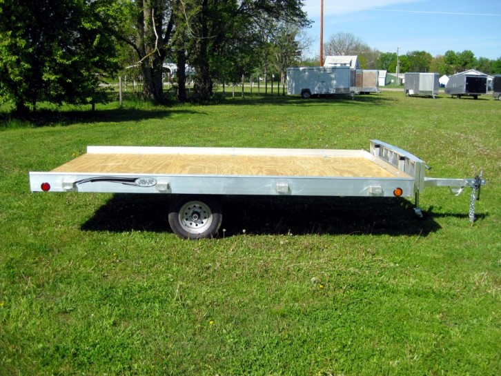 R and R Aluminum Trailers 712QT side Custom rnr trailers  at readyjetset.co
