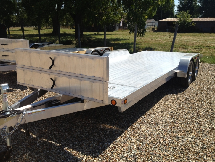 Used Aluminum Open Car Hauler For Sale