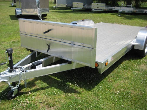 Aluminum Car Hauler Trailers (Open and Enclosed)