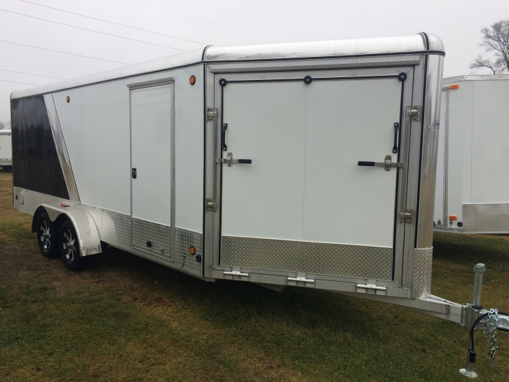 Aluminum Snowmobile Trailers
