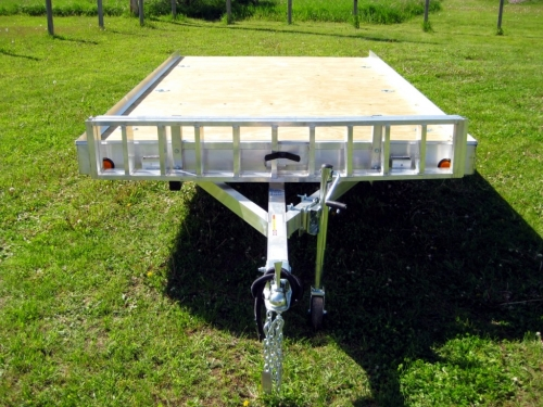 R and R Aluminum Trailers - 712QT (front)