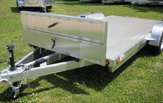 aluminum open car haulers
