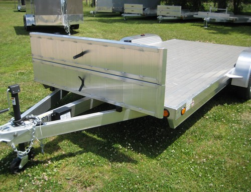 Save Big With R&R Trailers Aluminum Open Car Haulers
